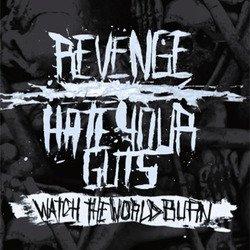 画像1: HATE YOUR GUTS / REVENGE - Split [EP]