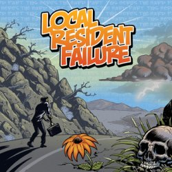 画像1: LOCAL RESIDENT FAILURE - This Here's The Hard Part [CD]