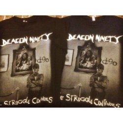 画像2: DEACON - Suicidal Tシャツ [黒L / 紺L-XL]