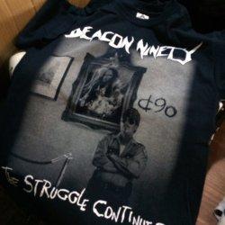 画像1: DEACON - Suicidal Tシャツ [黒L / 紺L-XL]