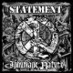 STATEMENT / INHUMANE NATURE - Only One Thing Cures In/Humanity Split [CD]
