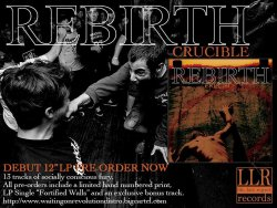 画像2: REBIRTH - Crucible [LP]