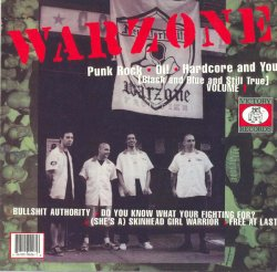 画像1: CAUSE FOR ALARM / WARZONE - Split [CD]