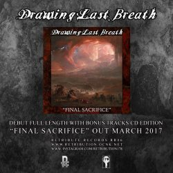 画像2: DRAWING LAST BREATH - Final Sacrifice [CD+Sticker]