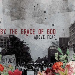 画像1: BY THE GRACE OF GOD - Above Fear (Purple Ink) [LP]