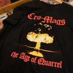 画像1: [Mサイズラス1] CRO-MAGS - The Age Of Quarrel Tシャツ [Tシャツ]