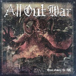 画像1: ALL OUT WAR - Crawl Among The Filth [CD]