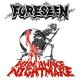FORESEEN - Infiltrator b/w Wide Awake Nightmare (Black/Clear) [EP]