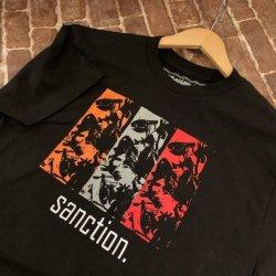 画像1: SANCTION - Black Tシャツ [Tシャツ]