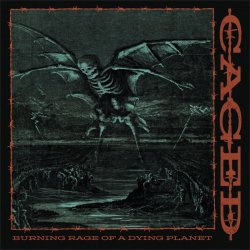画像1: CAGED - Burning Rage Of A Dying Planet (Maroon/Black) [EP]