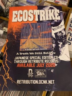 画像2: ECOSTRIKE - A Truth Still We Believe [CD]