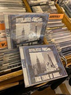 画像2: OUT FOR JUSTICE / SECTOR - This Thing Of Ours...Split [CD]