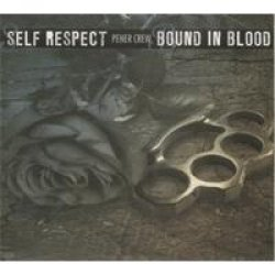 画像1: SELF RESPECT / BOUND IN BLOOD - Pener Crew Split