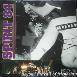 画像1: SPIRIT 84 - Beyond The Call Of Friendship [CD]
