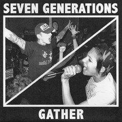 画像1: GATHER / SEVEN GENERATIONS - Split [EP]