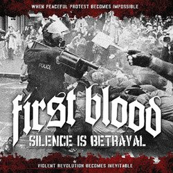 画像1: FIRST BLOOD - Silence Is Betrayal [CD]